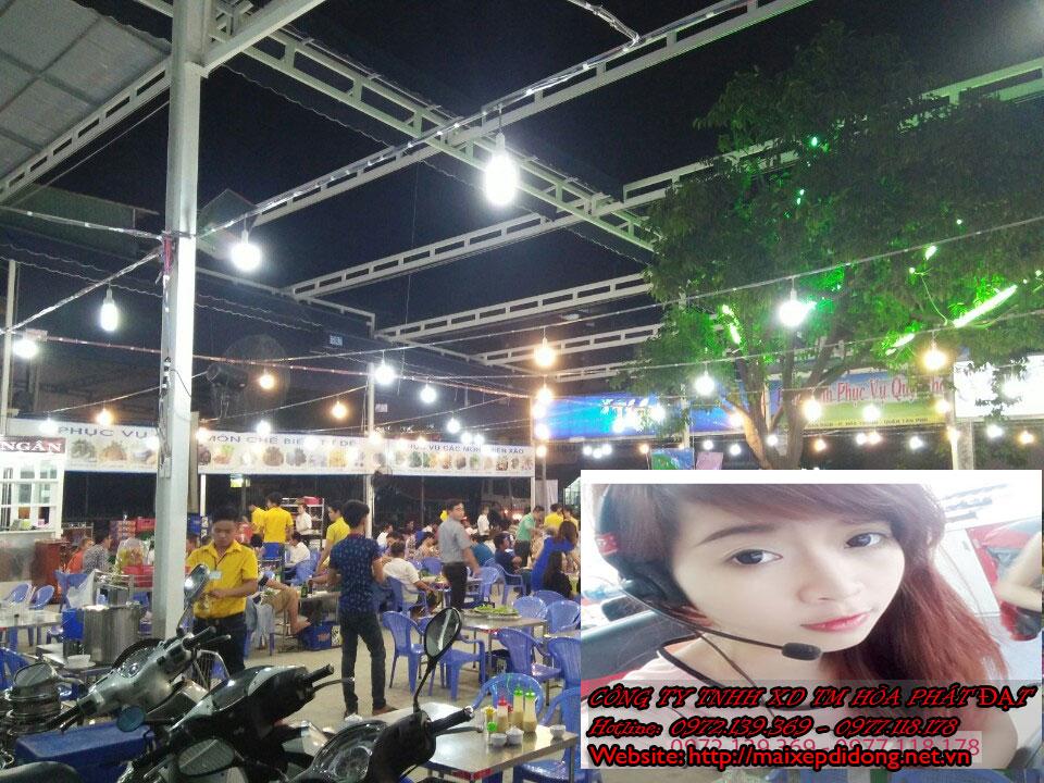 Mái hiên di động Biên Hòa